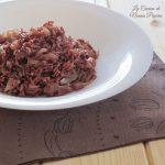 Riso rosso con finocchio ricetta al microonde