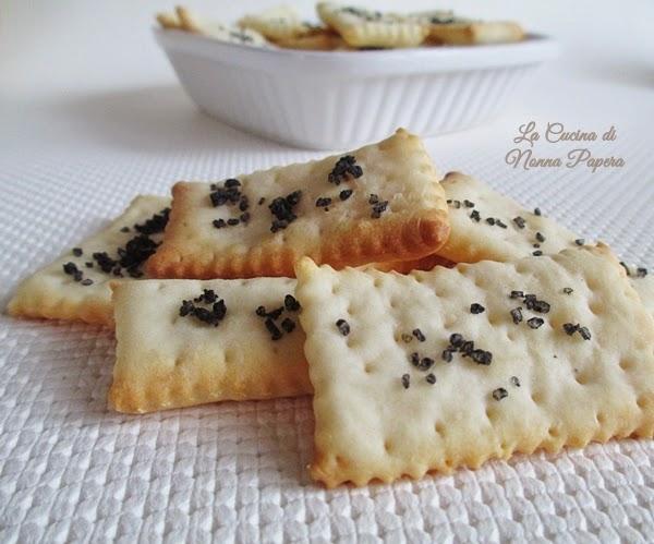 Cracker ricetta bimby