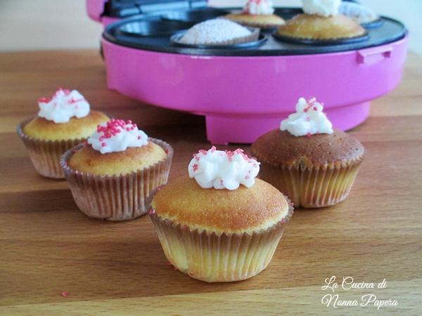 Cupcake ricetta base bimby