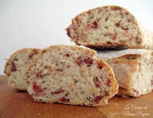 Pane con coppa macinata