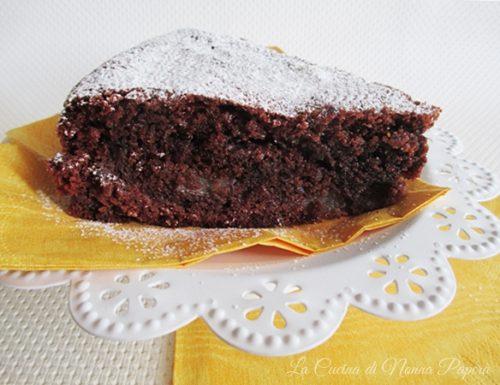Torta gluten free pere e cioccolato