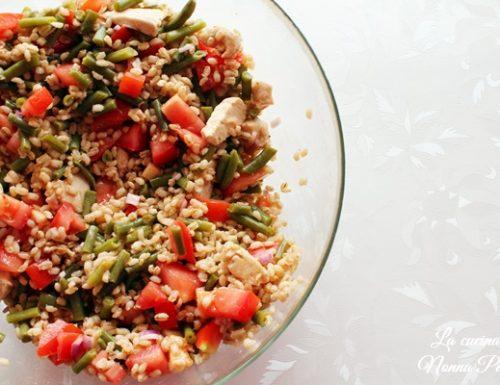 Insalata di Orzo e Pollo con Verdure – Ricetta Bimby