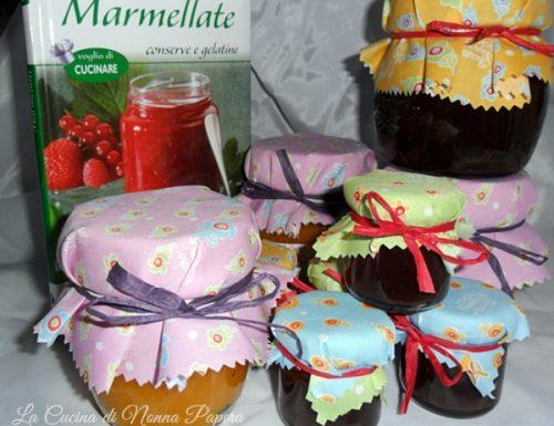 Marmellata di ciliegie e mele