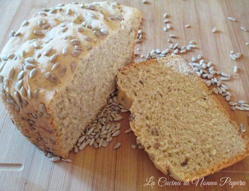 Pane con Semi di Girasole con La Macchina del Pane