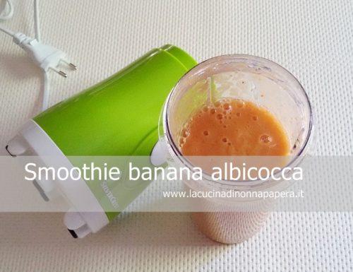 Smoothie Banana Albicocca