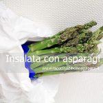 Insalata con asparagi radicchio e rapanelli