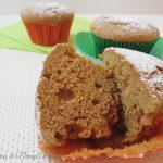 Muffin con farina di castagne