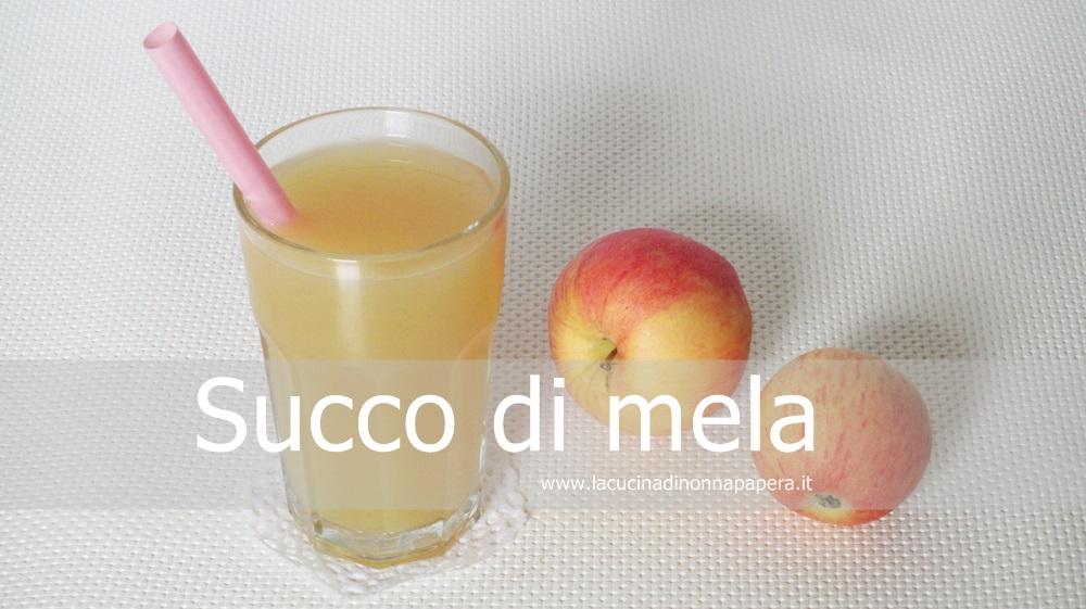 Succo alla mela-ricetta bimby