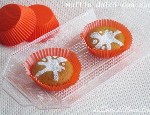 Muffin di zucca dolci