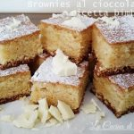 Brownies con cioccolato bianco-bimby
