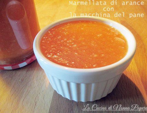 Marmellata di Arance con La Macchina del Pane