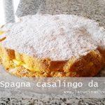 Pan di Spagna casalingo