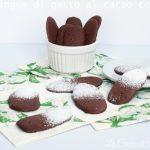 Lingue di gatto al cacao – ricetta bimby