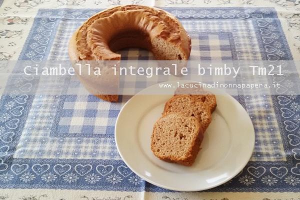 Ciambella integrale bimby