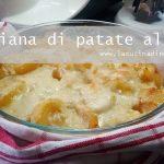 Parmigiana di patate al forno