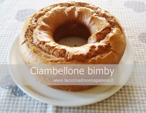 Ciambellone bimby