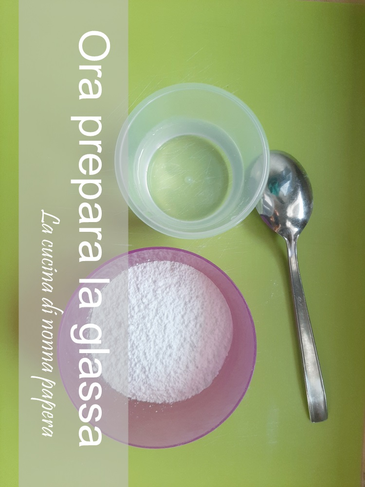 glassa di zucchero