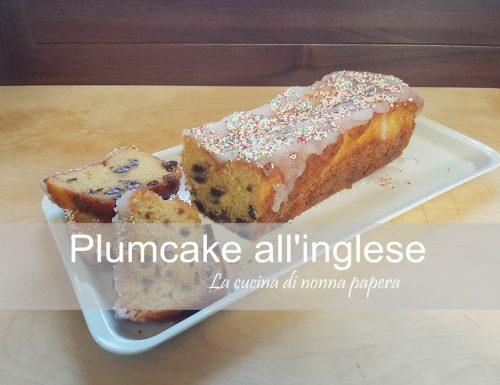 Plumcake all'inglese