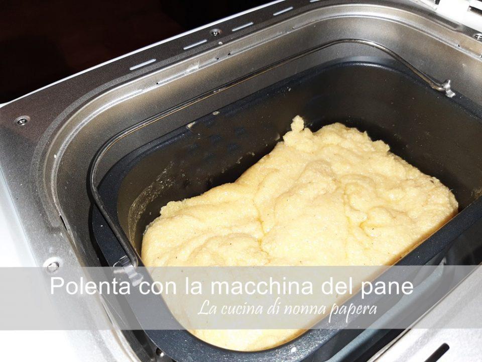 polenta-macchina del pane
