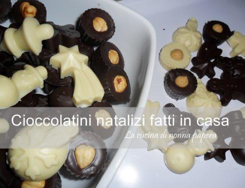 Cioccolatini fatti in casa per Natale