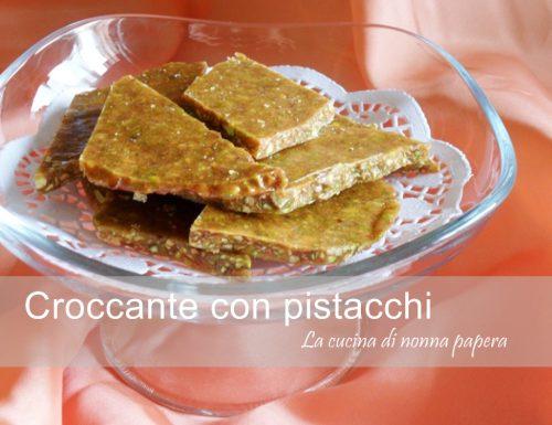 Croccante di pistacchi