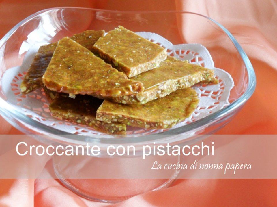 Croccante con pistacchi