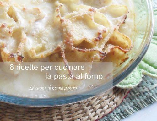 Pasta al forno-diversi modi di cucinarla