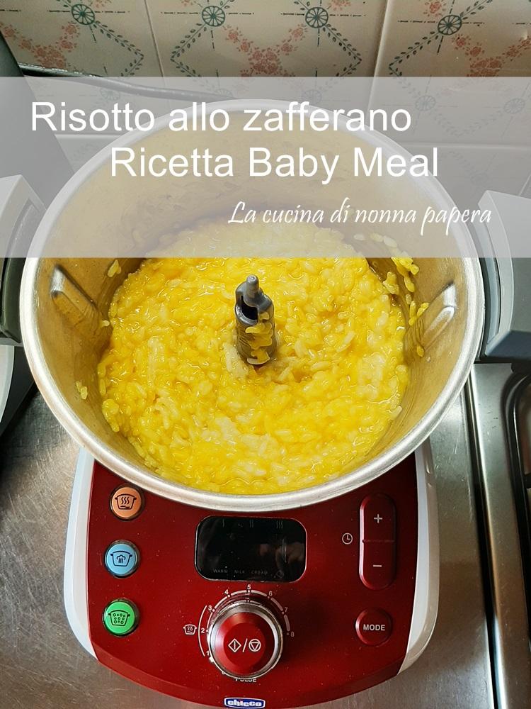 Risotto allo zafferano con Baby Meal