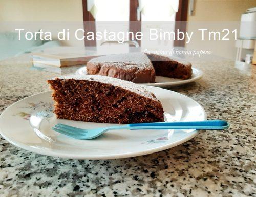 Torta di Castagne Bimby