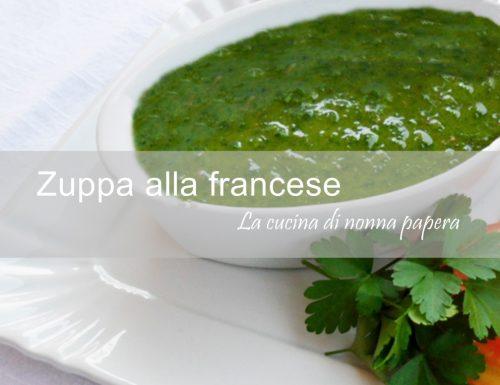 Zuppa alla francese