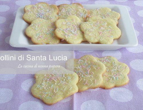 Frollini tradizionali di Santa Lucia