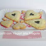 Biscotti allo yogurt di fragola