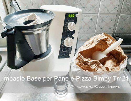 Pasta per Pane o Pizza Bimby Tm21