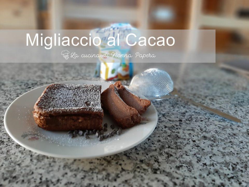Migliaccio al Cacao