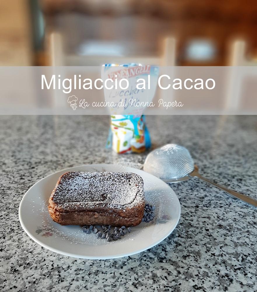 Migliaccio-Cacao-Ricetta