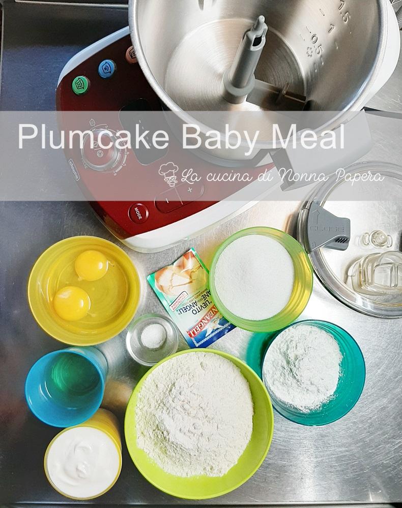 Plumcake preparazione