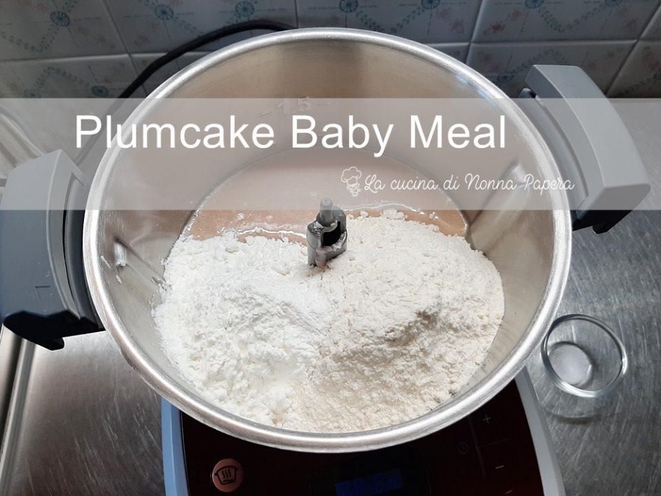 Plumcake Farine Baby Meal