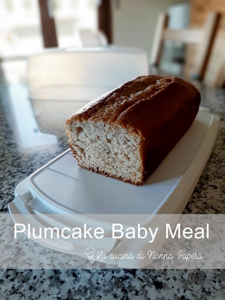 Plumcake Baby Meal