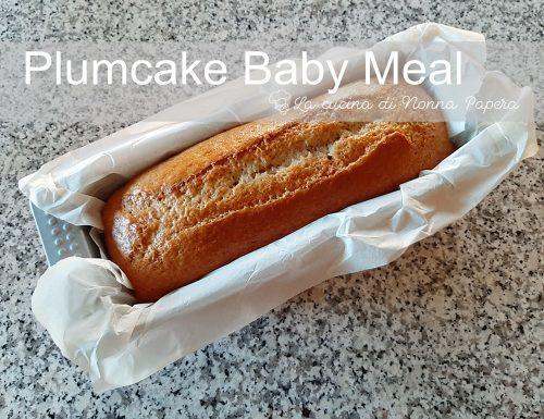 Plumcake Ricetta con Baby Meal