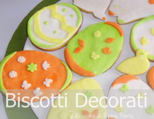 Biscotti Decorati Pasquali