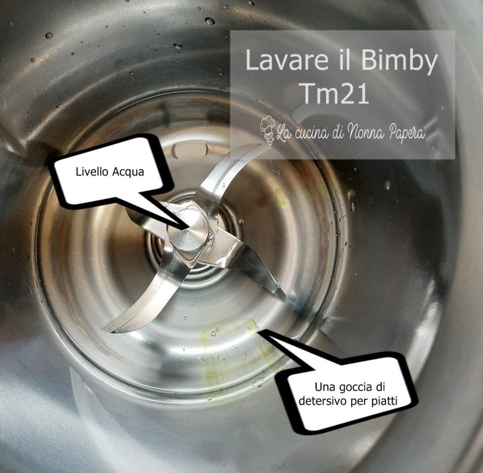 Lavare il Bimby