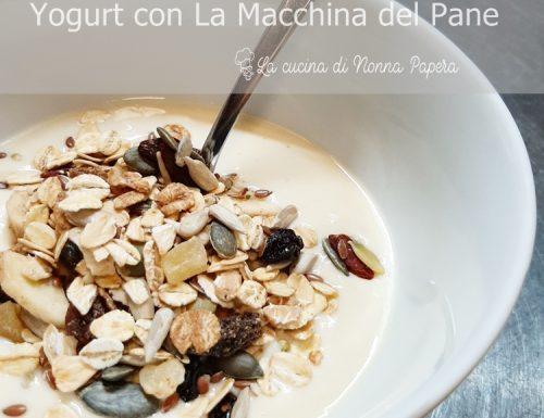 Yogurt con la Macchina del Pane