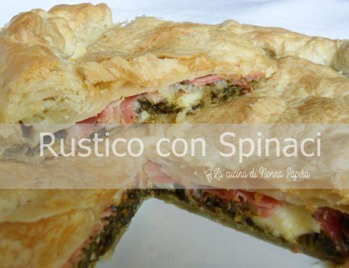 Rustico con Spinaci