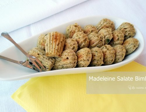 Madeleine Salate Bimby