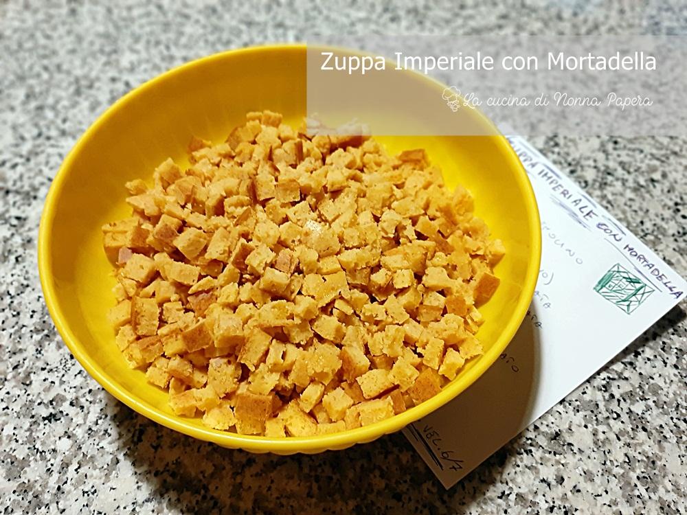 Minestra-Zuppa Imperiale