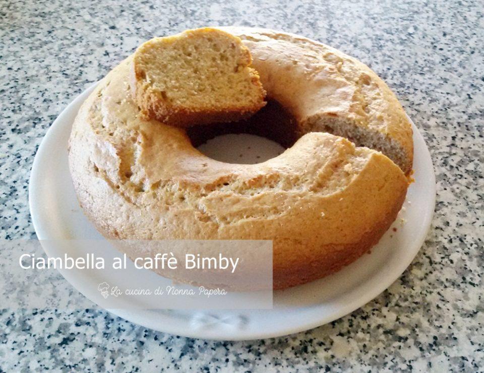 Ciambella al caffè-Bimby Tm21