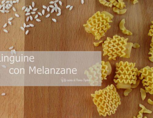 Linguine con Melanzane