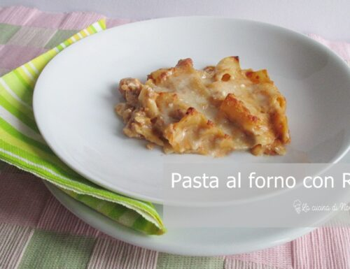 Pasta al Forno con Ragù