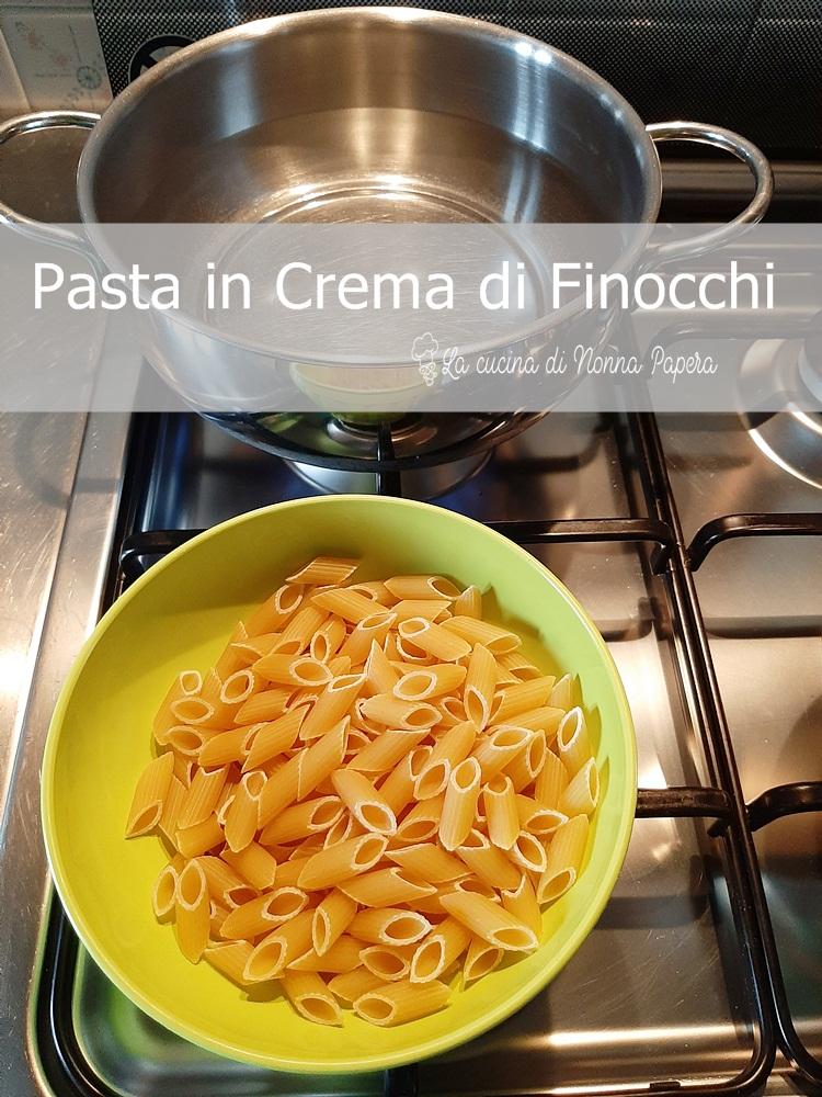Pasta in Crema di Finocchi