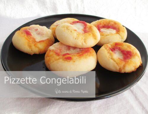 Pizzette Congelabili